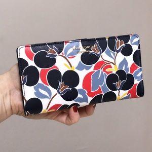 💃Kate Spade cameron large slim bifold wallet